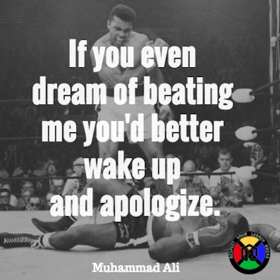 Muhammad Ali Apologise Quote