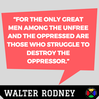 Walter Rodney Quotes - Great Men