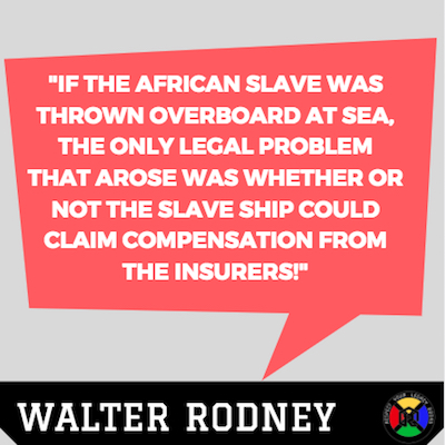 Walter Rodney Quotes - Slave