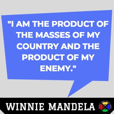 Winnie Mandela Quote - Product