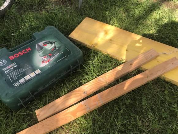 matière 1ère pour le DIY: le bois