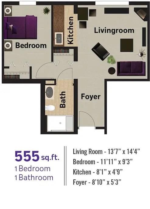 Seniors 1 Bedroom Condo Rental Seniors Respite Services