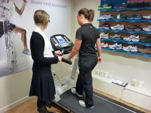 Diagnostic treadmill