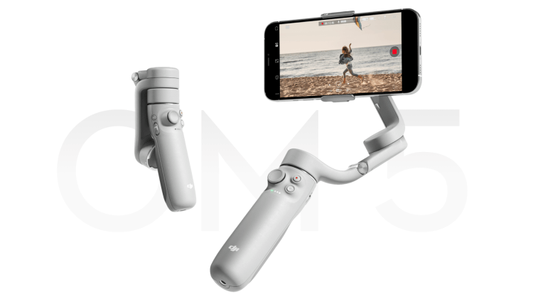 新品發布 》DJI 大疆 OM5 輕便型手機穩定器 拉桿設計 自拍取景更加方便