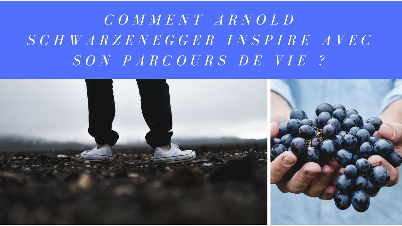Comment Arnold Schwarzenegger inspire avec son parcours de vie ?