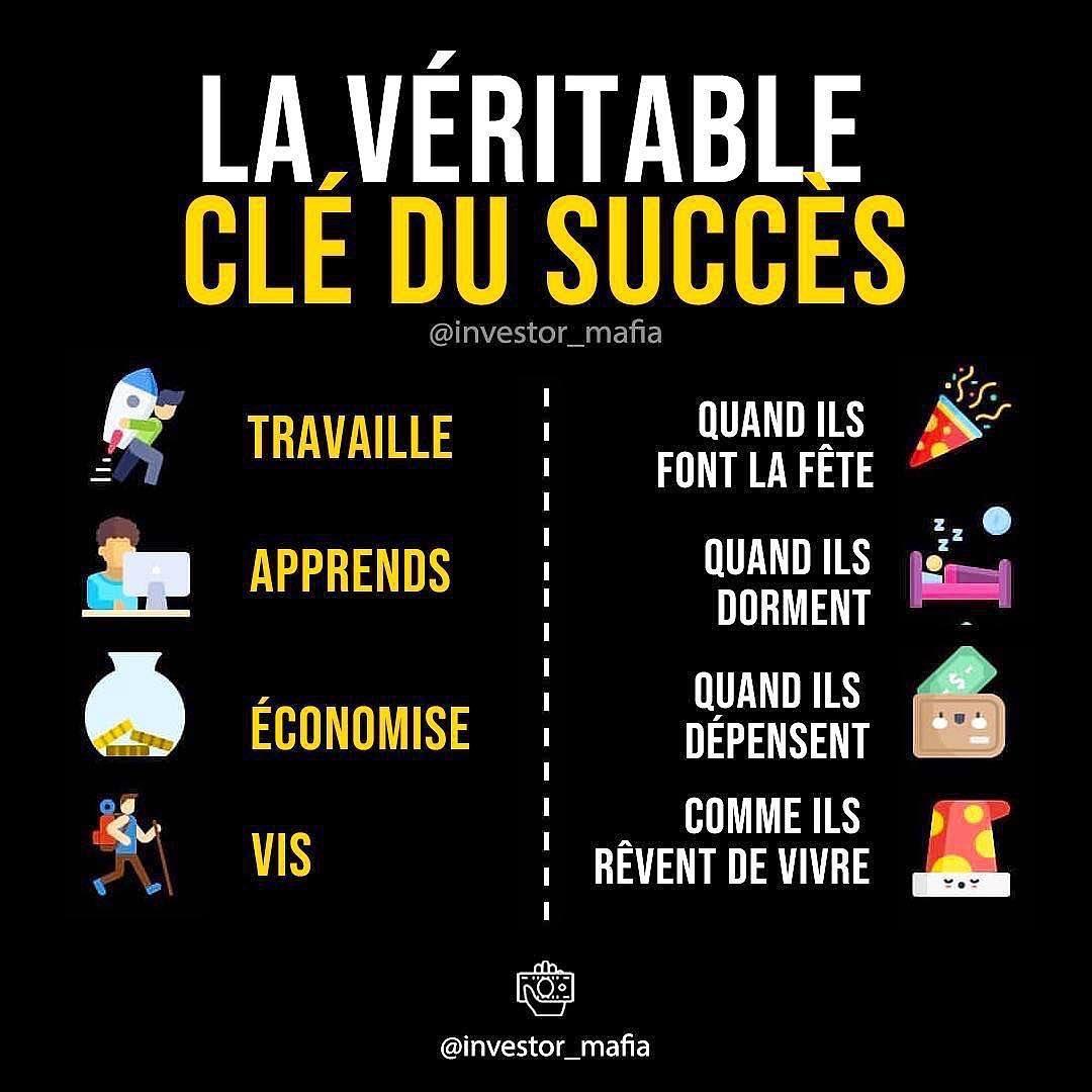 4  véritable clés de succès