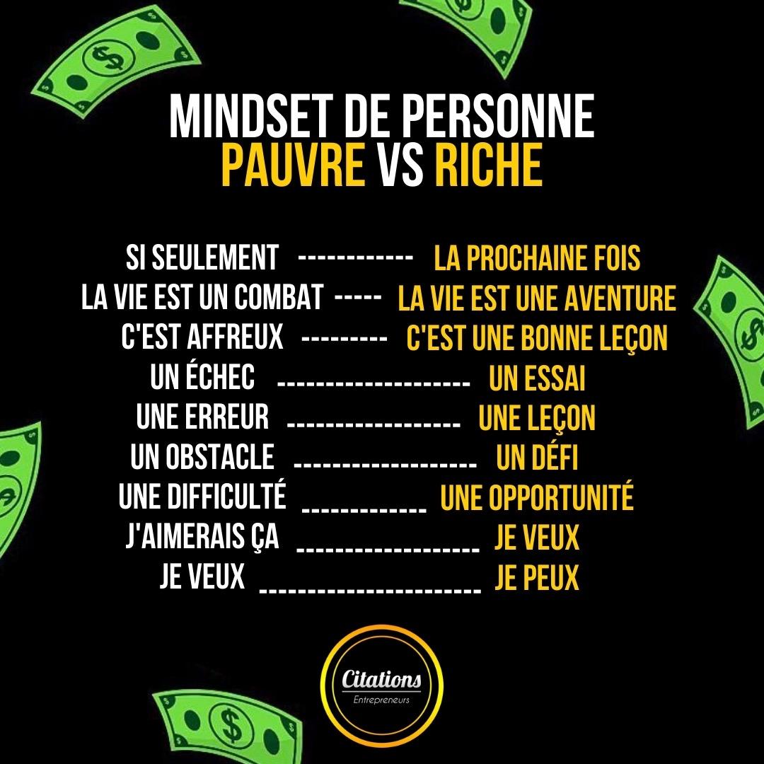9 différences de voir la vie entre les riches et les pauvres