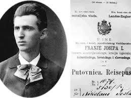 Passport of Nikola Tesla | Nikola Tesla Network