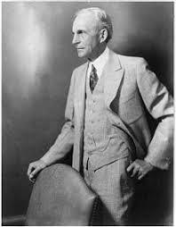 Henry Ford , l'industriel le plus connu dans le monde