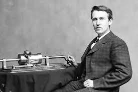 Thomas Edison, inventeur et industriel américain