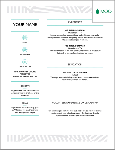 20 Free Resume Word Templates To Impress Your Employer