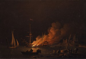 burning ship