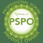 Scrum.org Professional Scrum Product Owner (PSPO)