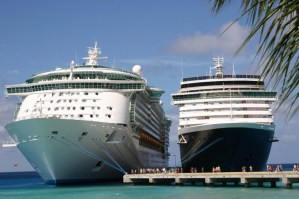 two-cruise-ships-at-dock