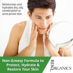 Men's Face & Body Moisturizer - ResQ Organics Pets