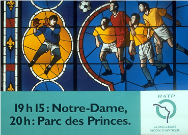 Marketing d'un service public : visuel de la campagne d'affichage de la RATP