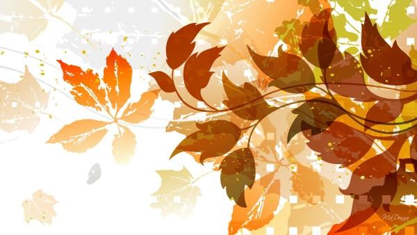 Fall Leaf Pattern Wallpaper Les Fonds D 233 Cran De L Automne 2015 Bdm