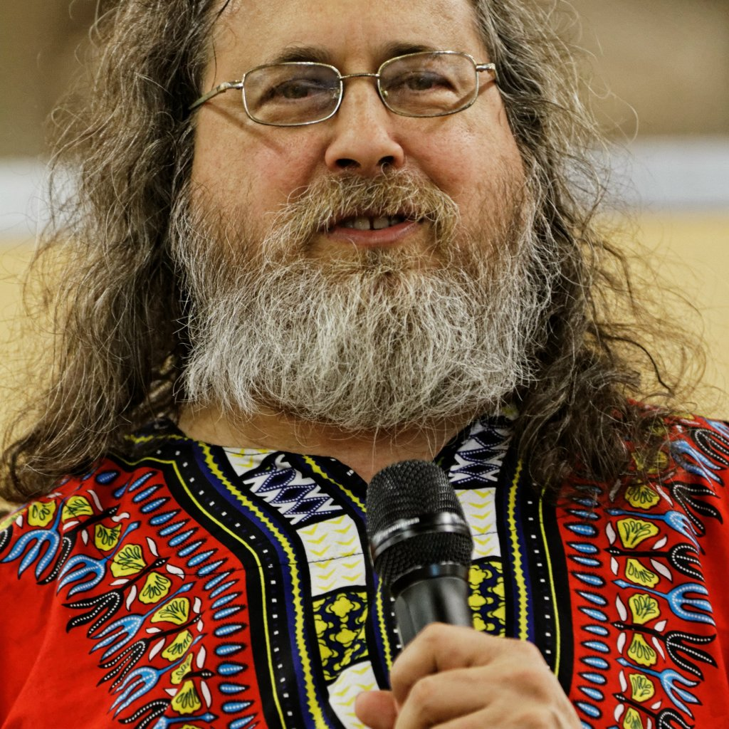 Une photo de Richard Stallman