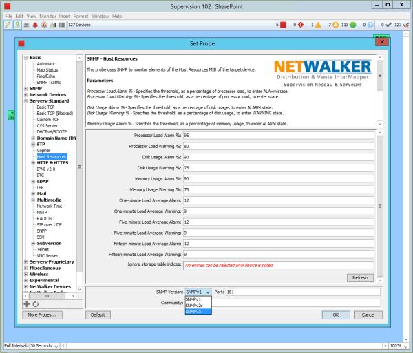 Monitoring SharePoint, InterMapper est une excellente solution de supervision