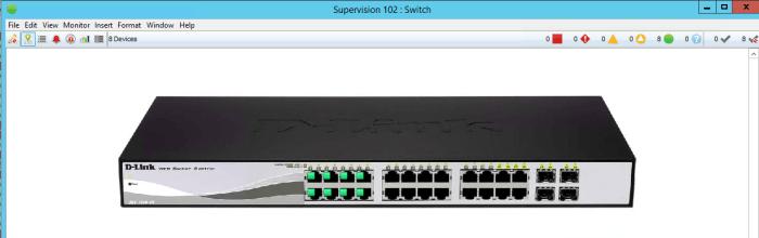 Monitoring de l'état des ports réseau d'un switche avec Intermapper