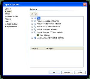 Module : Remote TCPDump Adapter