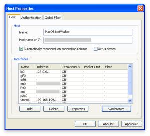 Synchroniser les interfaces