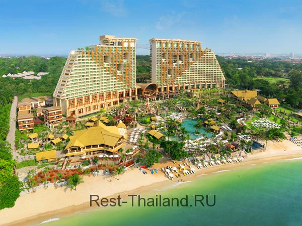 Отель Centara Grand Mirage Beach Resort Pattaya