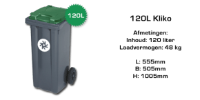 rolcontainer 120 liter