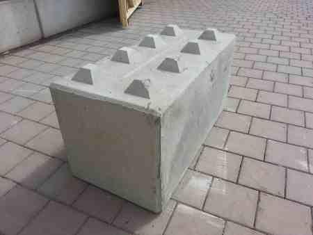 BBloxx — Beton-Schnellbausteine, Betonblocksteine, Betonblock mit Noppen – 1.200er
