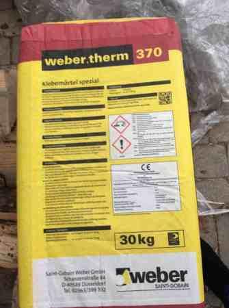 Spezialmörtel therm 370. 5×30 kg