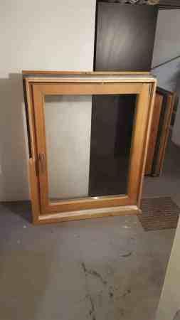 Holzfenster, Eiche geölt