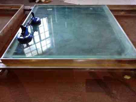 Begehbares Glas, Glasboden, Lichtschacht