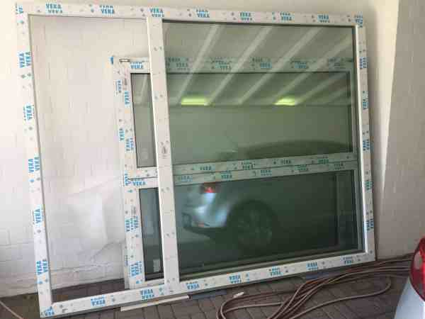 veka balkonfenster mit t r g nstig kaufen im