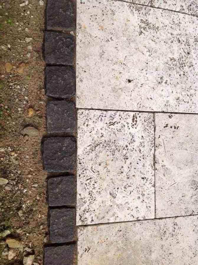 Natursteinplatten (Travertin-Bodenplatte) günstig online kaufen im ...