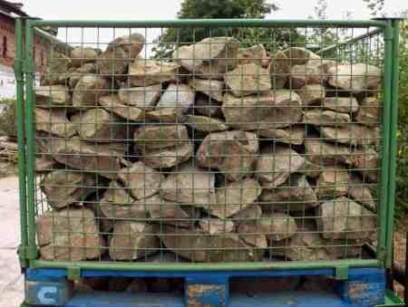 Bruchstein Mauerwerk Naturstein Sandstein Kalksandstein Trockenmauer Gartensteine Poolumrandung