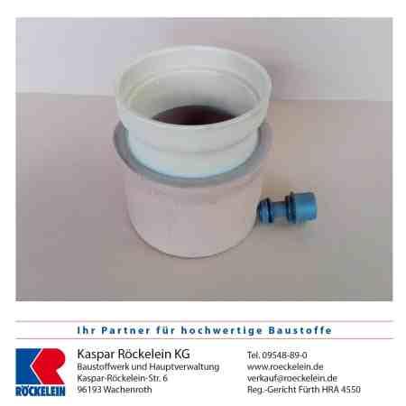 Kamin – Wassersammler – OSMOTEC isostat. 160 mm