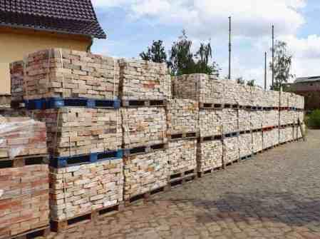 Altziegel Reichsformat Ziegelsteine Backsteine Verblender Mauersteine Rückbausteine Loft used look Industrie Werkstatt Optik