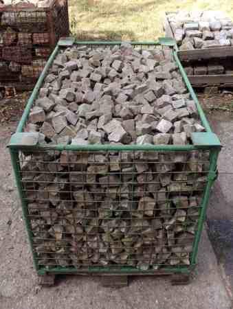 historische Pflastersteine Grauwacke Mosaikpflaster Terrasse Garten Natursteine Hofpflaster Alstadtpflaster