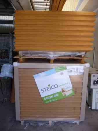 Steico protect dry Typ M Holzfaser-Dämmplatte, 100 mm und 80 mm
