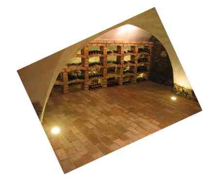 Bodenziegel Bodenplatten Bodenfliesen Weinkeller Antikziegel alte Mauersteine Backsteine Terracotta Ziegelboden Backstein alte Mauersteine geschnitten Landhaus shabby chic