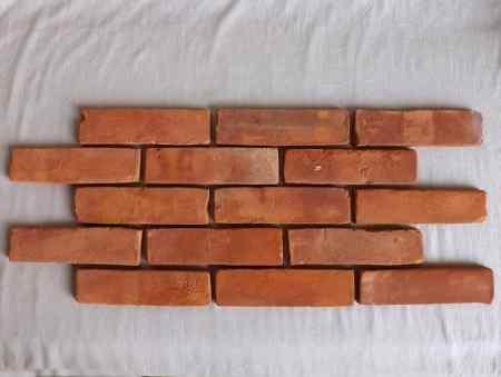 Antikriemchen Retro Steinriemchen Mauerverblender Ziegelriemchen Kohlebrandt Mauerziegel antik retro Verblender Ziegel Backstein Fliese