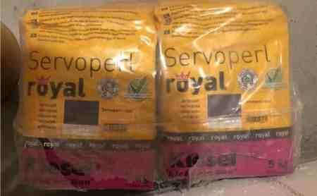 Kiesel Servoperl royal anthrazit (20kg)
