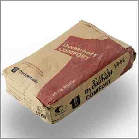 Dyckerhoff Comfort Zement, CEM II / A-LL 42,5 N