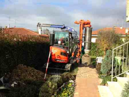 New piling / drilling rig  Tescar CF2