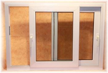 Schiebefenster-Balkon- oder Terassenverglasung