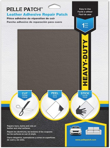 Pelle Patch - Leather & Vinyl Adhesive Repair Patch