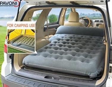 PAVONI Car Inflatable Air Camping Mattress Pad
