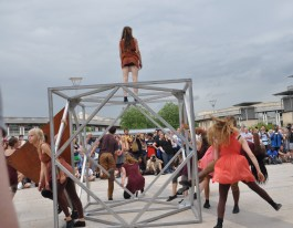 Beyond the Box commission. Rise YDC - 'Fence' choreographed by Helen Parlo