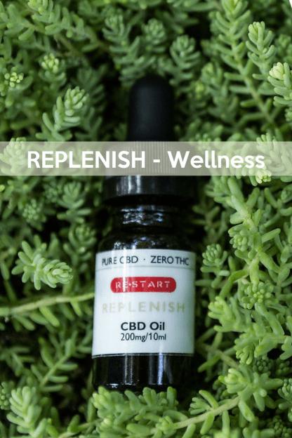 REPLENISH Overall Wellness • RESTART CBD • Austin, Texas