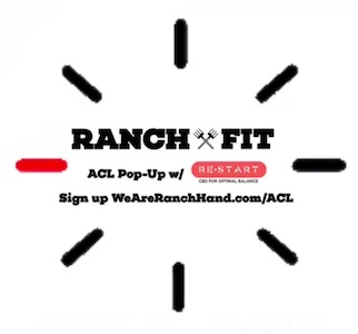 Ranch Fit ACL Pop-Up with Outdoor Voices  · Oct 12-14, 2018